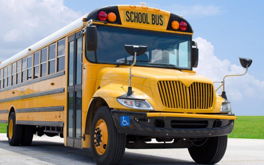 La gita scolastica in bus